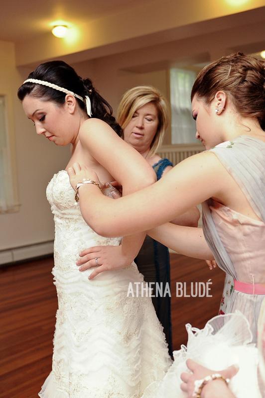 Bride Getting Dressed 4