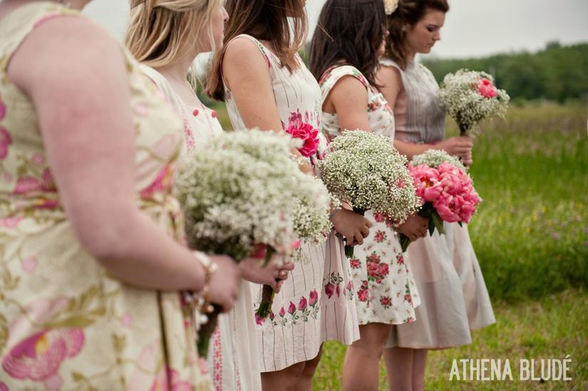 Bride's Maid Bouquets