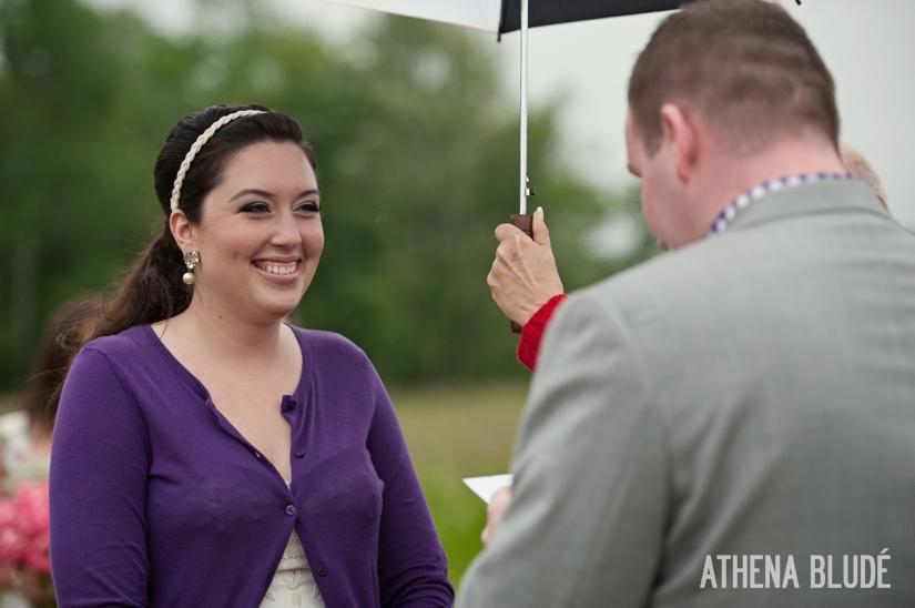 Wedding Ceremony in Washington, CT