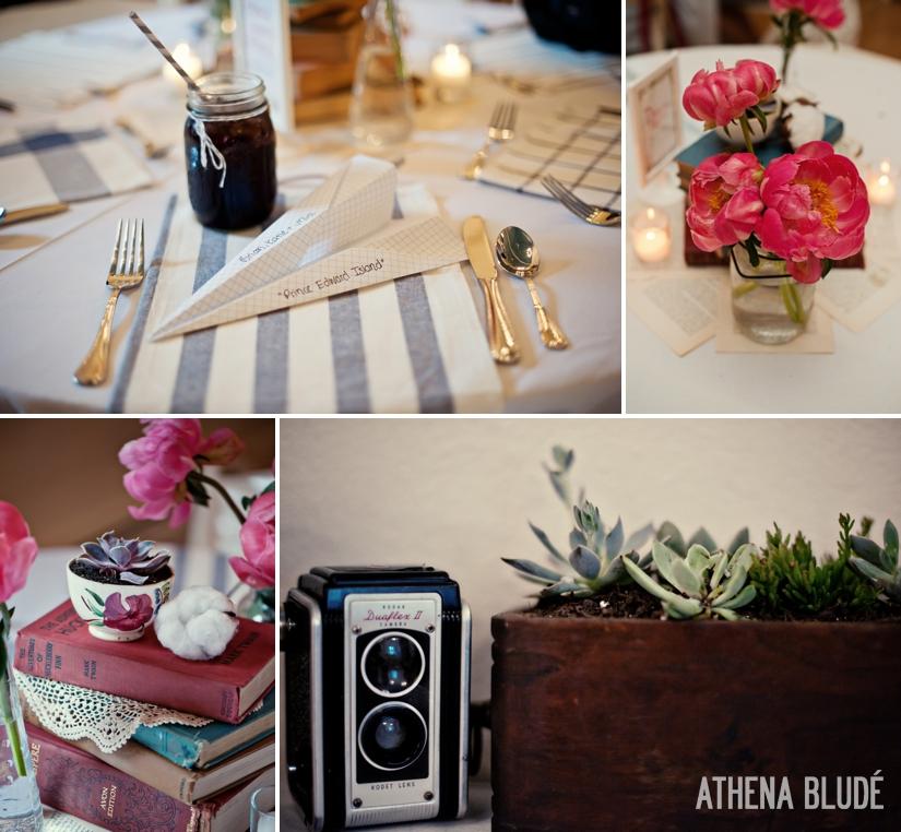 Reception Details: Vintage Camera