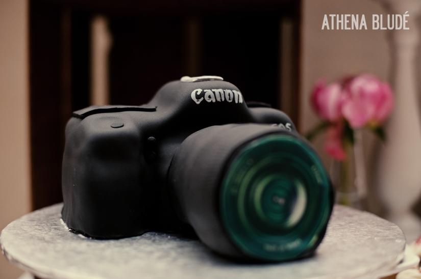 Wedding Camera Cake
