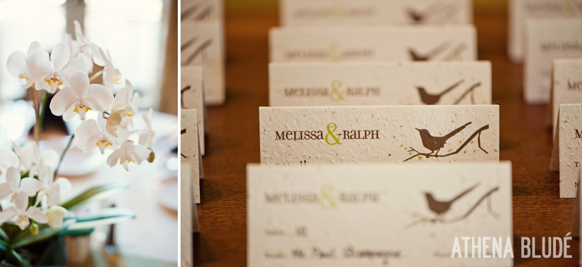 Recycled Paper Place Cards