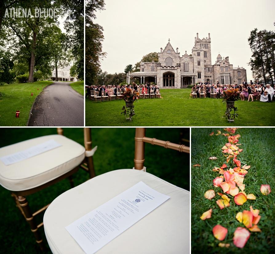 Lyndhurst Castle Wedding: Ceremony