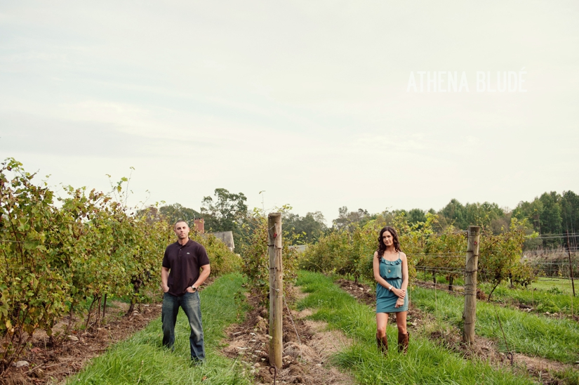 Chamard Vineyard Engagement Session